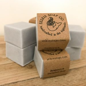 mini complementary soap bars