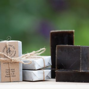 handmade cleansing facial soap bar